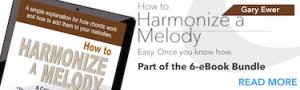 How to Harmonize a Melody eBook - Gary Ewer