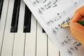 Music and keyboard