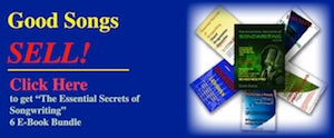 """Purchase """"The Essential Secrets of Songwriting"""" 6 e-book bundle"""