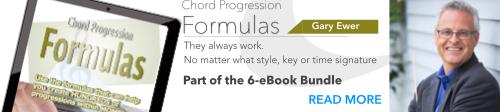 Chord Progression Formulas eBook - Gary Ewer