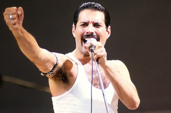 "Freddie Mercury - Queen - ""Love of My Life"""