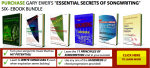 """Purchase """"The Essential Secrets of Songwriting"""" Ebook Bundle"""
