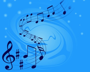 The direction of song melodies
