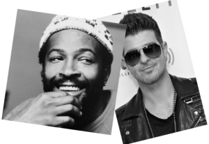 Marvin Gaye m- Robin Thicke